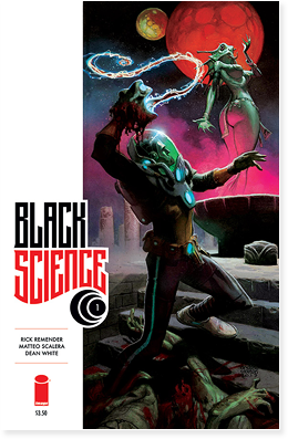 Black Science issue 1, from Image comics.