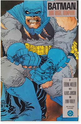 Cover to Batman: The Dark Knight, from 1986.